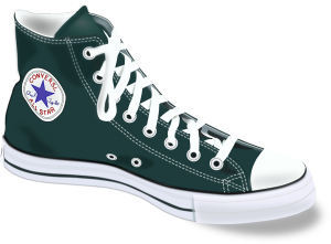 Converse All Star, l'icône de la chaussure moto