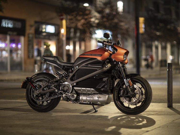 Harley Livewire moto