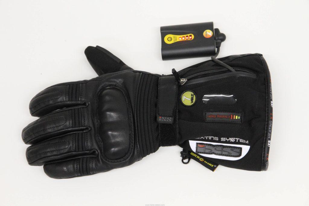 gants moto chauffant