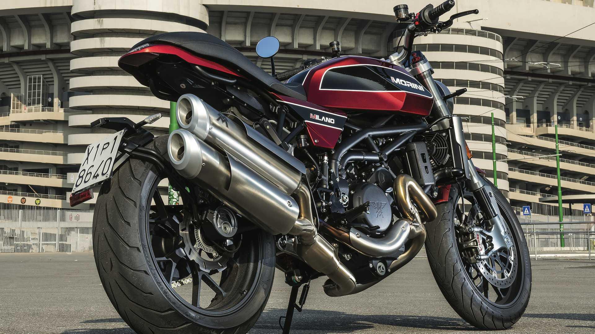 Moto Morini Milano : présentation, fiche technique, prix