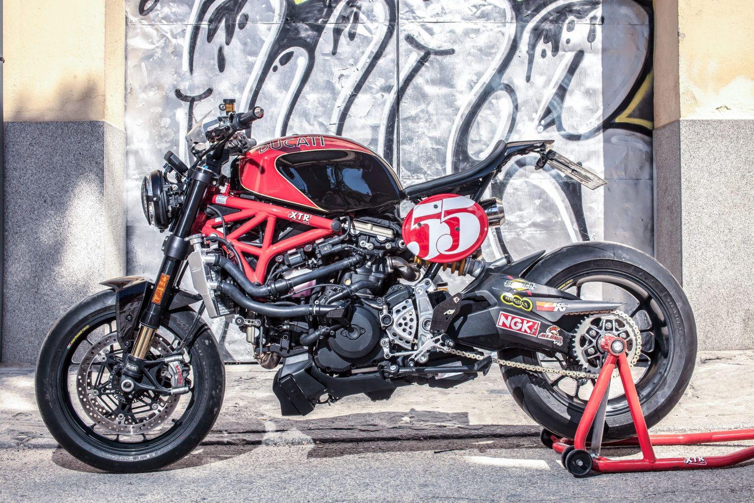 Ducati Monster 1200 R : présentation, fiche technique, prix