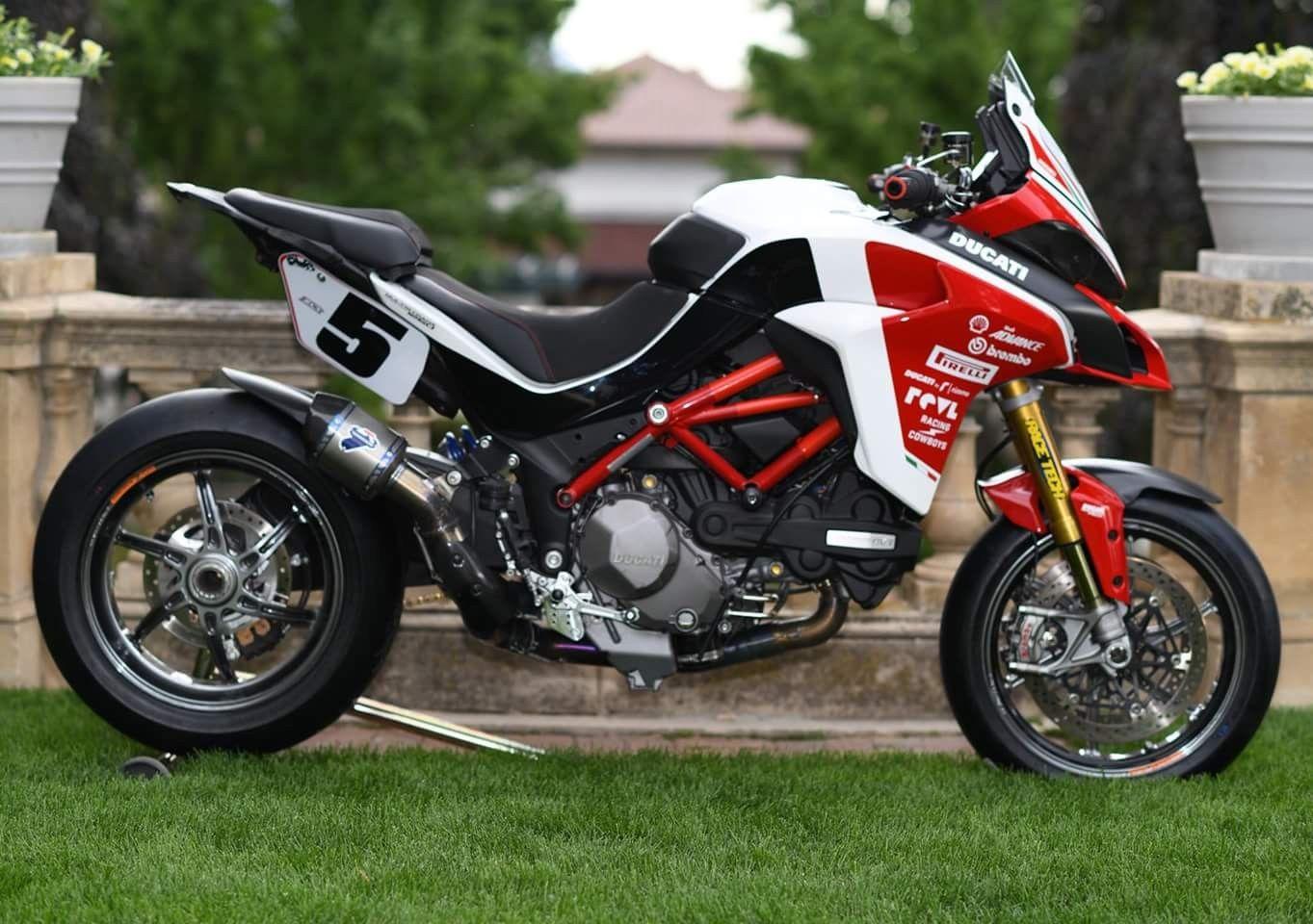 Ducati Multistrada 1260 Pikes Peak : présentation, fiche technique, prix